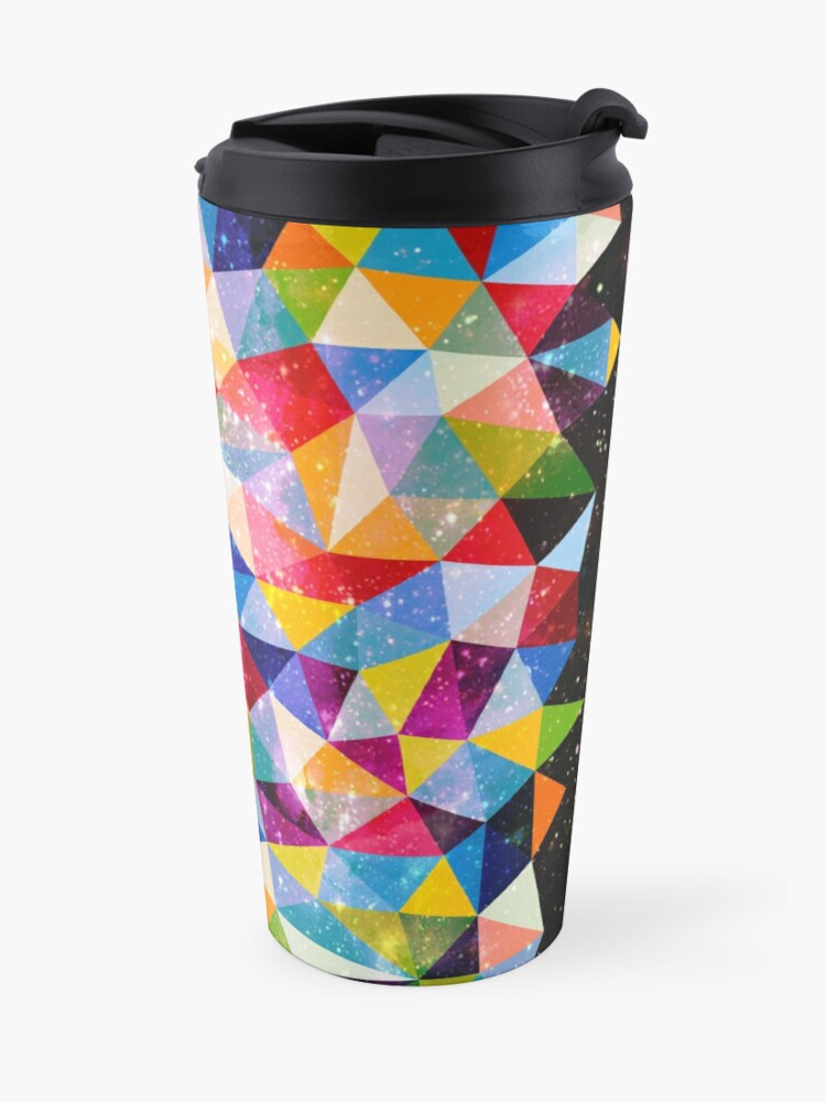 Alternate view of Space Shapes Travel Mug