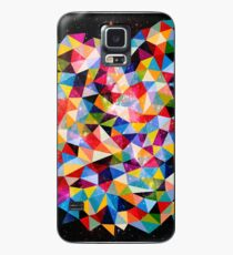 Space Shapes Case/Skin for Samsung Galaxy