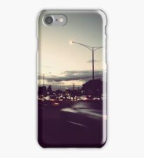 on the way home iPhone Case/Skin