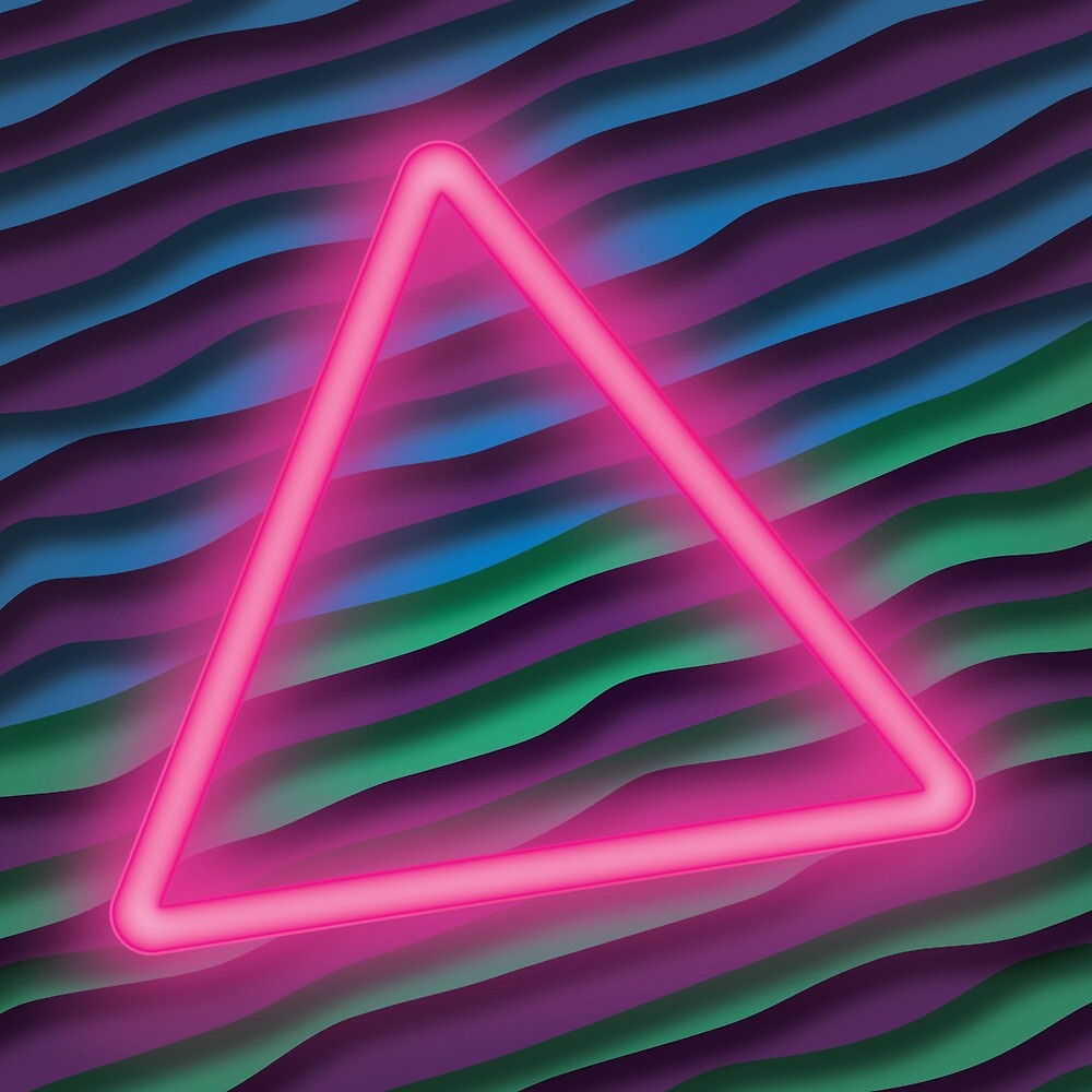 Neon Triangle [Fapper Keeper] by Brent Pruitt