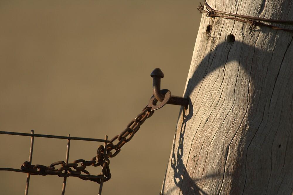 Old Gatepost by Vikki Shedden Photography