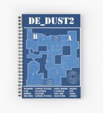 CSGO DE_Dust 2 Spiral Notebook