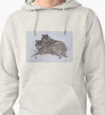 Timber Wolves Pullover Hoodie