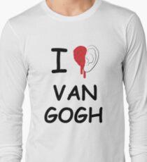 I love Van Gogh Long Sleeve T-Shirt