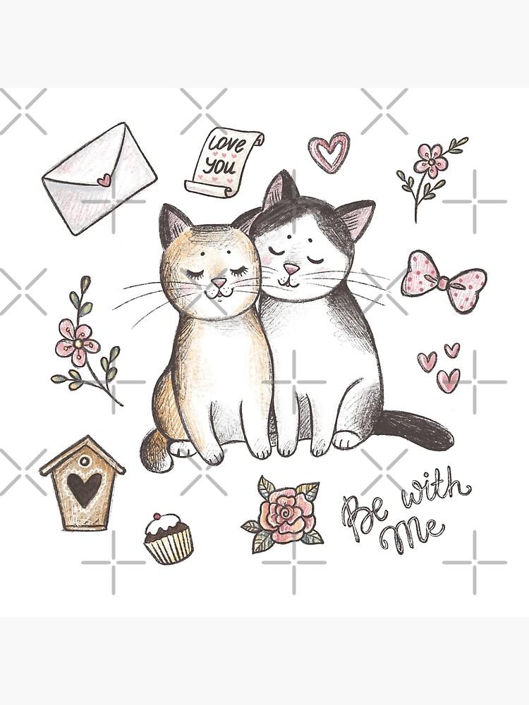 Gatos enamorados de annasyroed