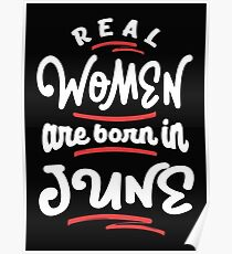Real Women are Born in June Poster