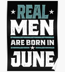 Real Men are Born in June Poster