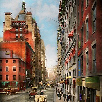 City - Boston MA - State St 1905 by mikesavad