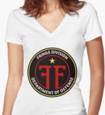 FRINGE Division Department of Defense Women's Fitted V-Neck T-Shirt