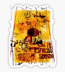 Cafe Servicio Sticker