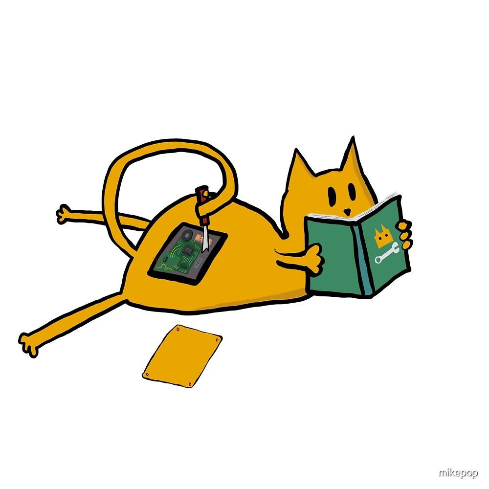 Catbot Self Repair by mikepop