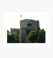 Anadoluhisarı (Anatolian Castle)-TURKEY Art Print