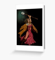 DungeonCrawl  - Samantha Greeting Card