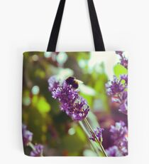 Bumble Blossom Tote Bag