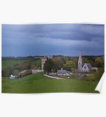 Borthwick Castle and Church Poster