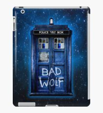 Space And Time traveller Wolf iPad Case/Skin