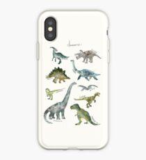 Vinilo o funda para iPhone Dinosaurios