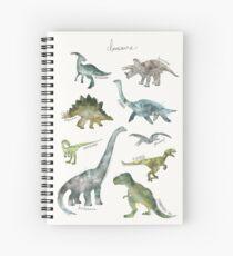 Cuaderno de espiral Dinosaurios