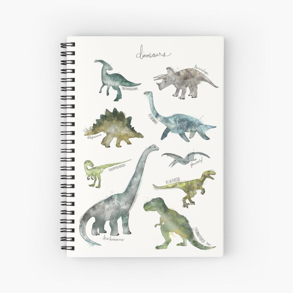 Dinosaurier Spiralblock