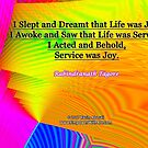 I Slept and Dreamt by empowerwithart