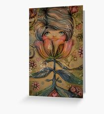 The Heart Garden of Lily Mai Greeting Card