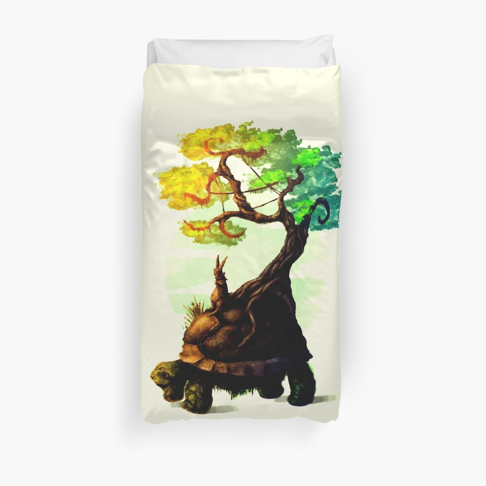 Tortoise and the Hare Duvet Cover