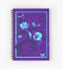 Cuaderno de espiral Peleas en el piso de la bolera