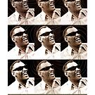 Jazz Heroes Series - Ray Charles by MoviePosterBoy