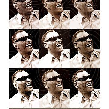 Jazz Heroes Series - Ray Charles by MoviePosterBoy