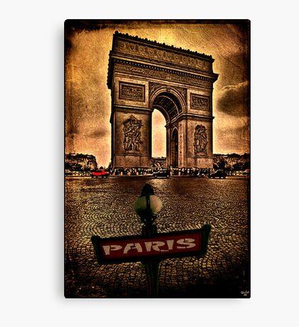 Arc de Triomphe de l'Étoile Canvas Print