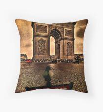 Arc de Triomphe de l'Étoile Throw Pillow