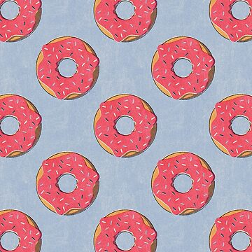 FAST FOOD / Donut - pattern by danielcoulmann