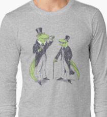 Tea Rex and Velo Sir Raptor Long Sleeve T-Shirt