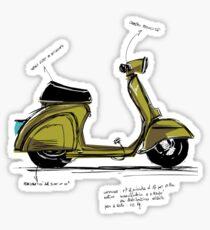 Scoot! Sticker