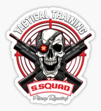 SS Tactical Training Sticker
