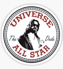 The Dude All Star Sticker