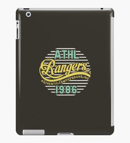 Athletic Rangers 1986 Vintage iPad Case/Skin