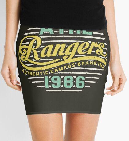 Athletic Rangers 1986 Vintage Mini Skirt