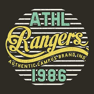 Athletic Rangers 1986 Vintage by Chocodole