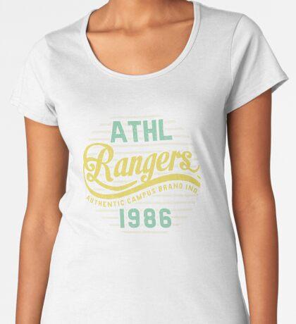 Athletic Rangers 1986 Vintage Premium Scoop T-Shirt