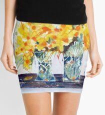 Cheryl's Gold Mini Skirt