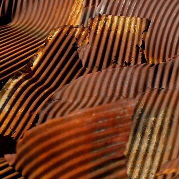 Rusted Roof    #6174 by JLWoody15Wooden