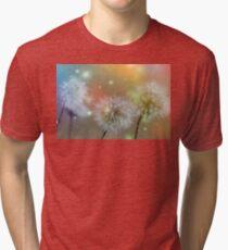 Dandelion filed Tri-blend T-Shirt