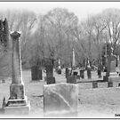 Cemetery in Moosup, CT by Debbie Robbins