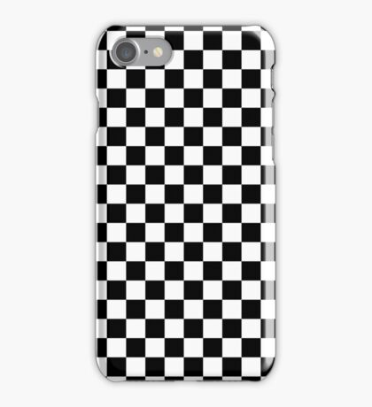 Checkerboard iPhone Case/Skin
