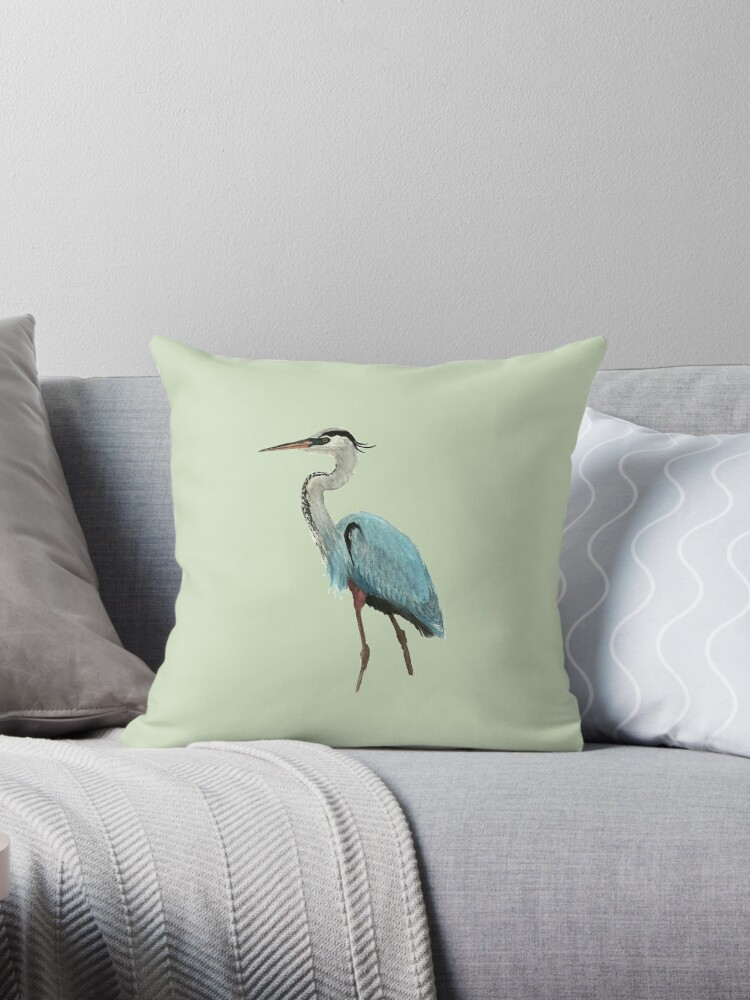 Great Blue Heron by Holly Faulkner