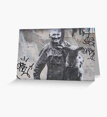 Urban Wall Greeting Card