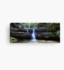 Terrance Falls, Blue Mountains, Australia Canvas Print