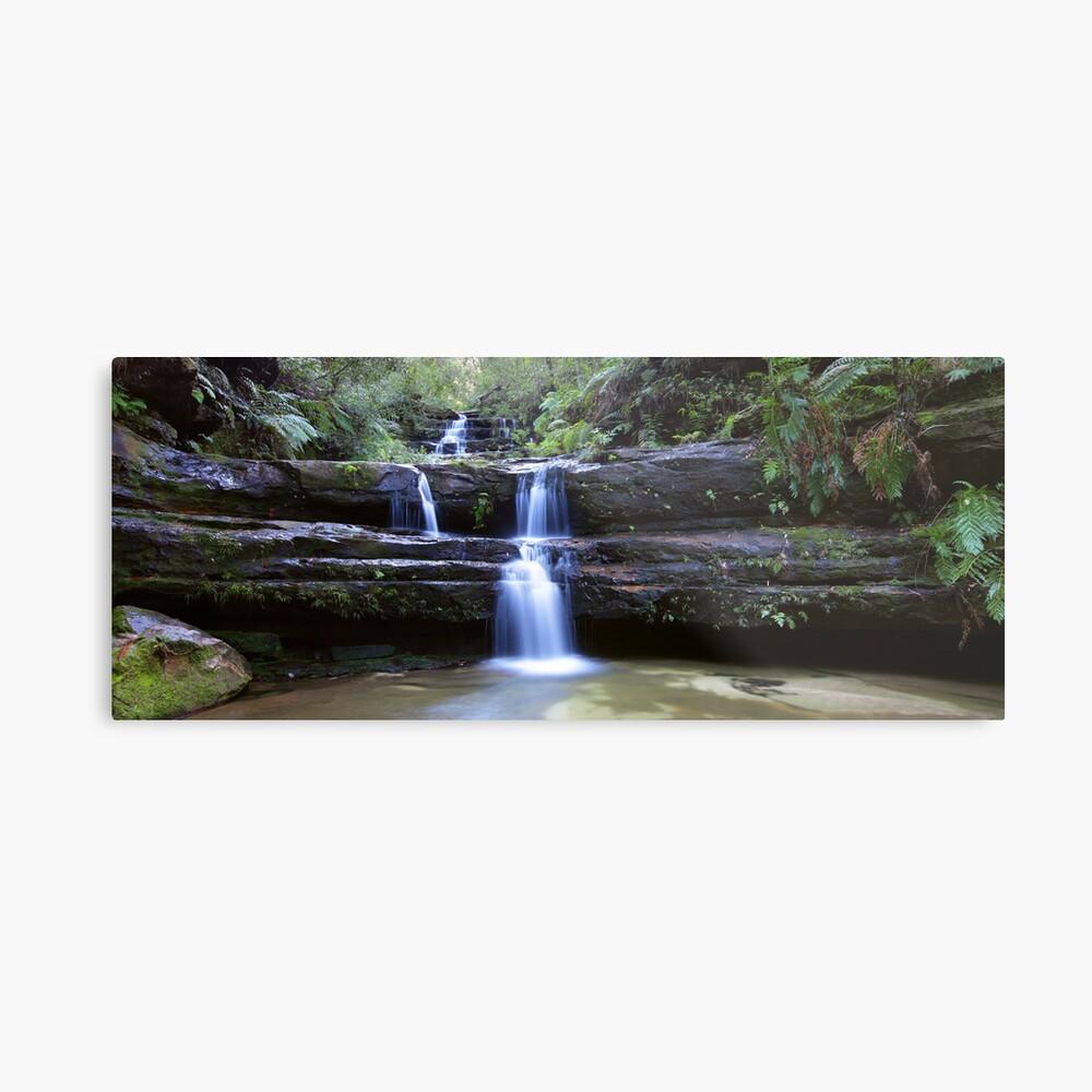 Terrance Falls, Blue Mountains, Australia Metal Print