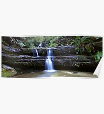 Terrance Falls, Blue Mountains, Australia Poster